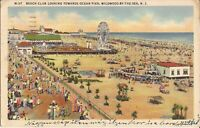 Wildwood-by-the-Sea, NEW JERSEY - Beach Club - 1943 - Ferris wheels