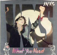 1980s Vinyl Music Records Single INXS