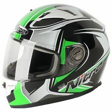 Nitro Men Graphic Motorcycle Helmets