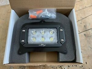 John Deere 850/ 950/ 1050 Tractor LED Front Headlight w/ Mounting Hardware PAIR