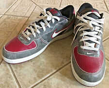 NEW Nike Zoom Air Distressed Grey and Red White Men's size 14 Sneakers