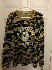 A Bathing Ape long sleeve, size XL 8/10