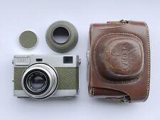 Werra IV Olive Rangerinder 35mm Film Camera with Carl Zeiss Jena Tessar lens