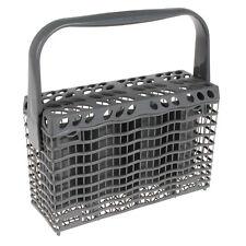 Genuine AEG Electrolux Zanussi Dishwasher Slimline Cutlery Basket Grey Silver