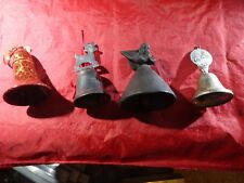 Lot Of 4 Small  Bells Very Nice