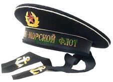 Soviet Badge USSR Red Star Military Russian Army Peakless cap Sailor Naval Fleet