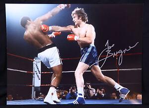 New Joe Bugner Vs Muhammad Ali Rare Signed 12x16  Boxing Photograph