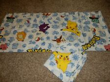 Ln Set of 4 84x15 Vintage Pokemon Pikachu Window Valances (Fabric)