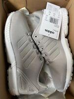 Adidas Originals ZX Flux GS ® ( Size UK 3.5 EUR 36 ) Grey / White