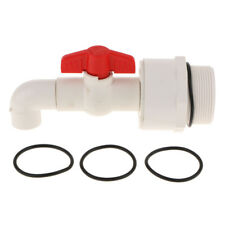 Plastic Drum Barrel Spigot Faucet Taps 90 Degree DN50 Connection 25mm