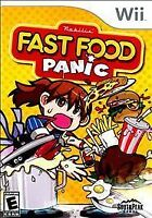 BRAND NEW Sealed Fast Food Panic (Nintendo Wii, 2010)