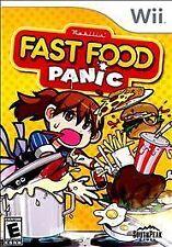 BRAND NEW Sealed Fast Food Panic (Nintendo Wii, 2010)