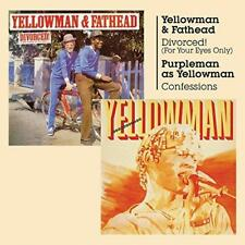Yellowman And Fathead Purpleman - Divorced (For Your Eyes Only) And Con (NEW CD)