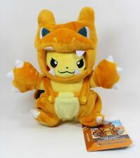 Pokemon Charizard Costume Pikachu Soft Plush Doll Stuffed Toy Xmas Gift -  8 In