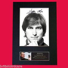 STEVE JOBS Apple Mac iPhone 6 Quality Autograph Mounted Photo Repro Print A4 604