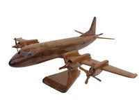Lockheed Navy P-3 Orion Anti Submarine Aircraft Mahogany Wood Wooden Model New