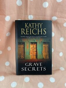Grave Secrets By Kathy Reichs Mystery, Crime Fiction Hardcover Book