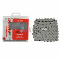 SRAM PC-830 Bicycle Chain Mountain Bike Road Cycle MTB 8 Speed Grey >PC830<
