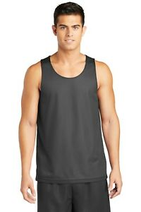 New Basketball Jersey Team Uniform Sport-Tek PosiCharge Mesh Reversible Tank