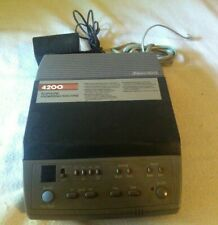 phonemate 4200 answering machine vintage landline remote access timestamp nos
