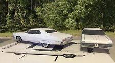 "Papercraft EZU-build 1967 Pontiac Grand Prix white coupe Toy Model ""Paper"" Car"