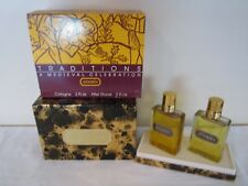 ARAMIS COLOGNE & AFTER SHAVE SET-TRADITIONS A MEDIEVAL CELEBRATION-VINTAGE-NEW
