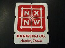 NORTH BY NORTHWEST BREWING Austin Texas STICKER decal craft beer brewery