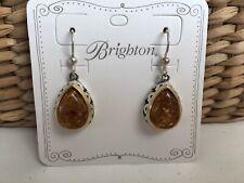 BRIGHTON NWT Bernstein Amber Earrings Original Retail $68