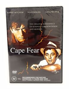 Cape Fear The Original (DVD, 1989) Gregory Peck New & Sealed Region 4 Free Post