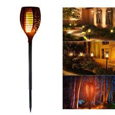 Solar Path Torch Light Dancing Flame Lighting 96 LED Flickering Garden Lamp Deco