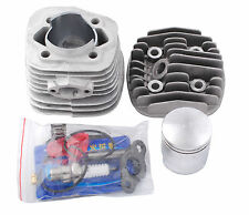47mm Cylinder Head Set Piston Kits 60cc 80cc Gas Motorized Bicycle Bike Engine