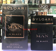 BULGARI MAN IN BLACK 100ML EDP EAU DE PARFUM PROFUMO UOMO HOMME MEN HIM SPRAY