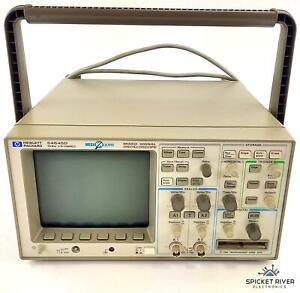 HP Agilent 54645D Mixed Signal Oscilloscope 100MHz 2 + 16 Channel #72188
