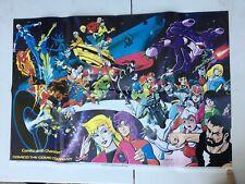 """Comico Justice Machine Wall Poster 1986 - 28.5"""" X  20"""" - in Fine condition"""