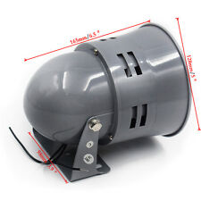 12V CIVIL AIR RAID SIREN HORN TORNADO ALARM MOTOR DRIVEN POLICE FIRE WELL MADE
