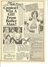 Bay City Rollers, Alan Longmuir, Full Page Vintage Clipping