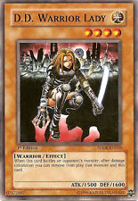 3x Yugioh SDDE-EN010 D.D. Warrior Lady Starter Deck Card