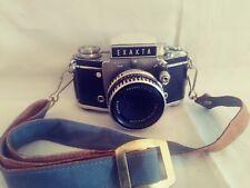 Exakta Ihagee Dresden Varex IIa Camera Vintage 1960 Zeiss 2.8/50mm Lens