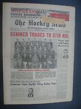 The Hockey News May 21, 1966 Vol.19 No.32 Montreal Canadiens Bowman Howell '66