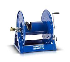 "Coxreels Steel Hand Crank Hose Reel 1/2"" Hose I.D., 200' Hose Capacity 3,000 PSI"