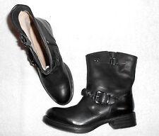 UNISA bottines zippées cuir noir P 41 neuves