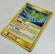 Gold Star Jolteon 101/108 Ex Power Keepers Holo Pokemon Card DAMAGED