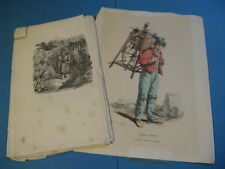 SUITE DE 21 GRAVURES Pour OEUVRE EXOTIQUE 1860 Signées DOLFINO D'ONOFRIO NOBILE