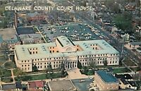 Delaware County Court House Pennsylvania aerial view Postcard