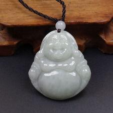 PENDENTIF en jade naturel Grade A ☆ Jadéite 100% certifiée ☆ Bouddha fait main