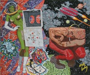 Robert Williams 146 color MASTERPIECE Serigraph edition of 75 S/N print