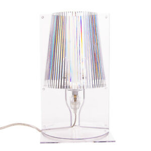 KARTELL TAKE Table Lamp Transparent Designed by Ferruccio Laviani Made in Italy