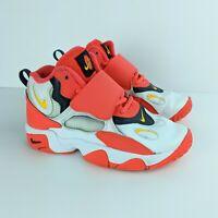 Nike Air Speed Turf White Laser Orange Athletic Shoes US 1 Youth BV2526-102