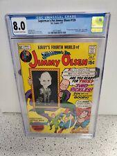CGC 8.0 SUPERMANS PAL JIMMY OLSEN #139 DC COMICS 7/71 1ST BRUNO MANNHEIM APP