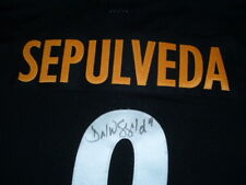 DANIEL SEPULVEDA #9 STEELERS SIGNED AUTOGRAPHED AUTHENTIC FOOTBALL JERSEY sz 52